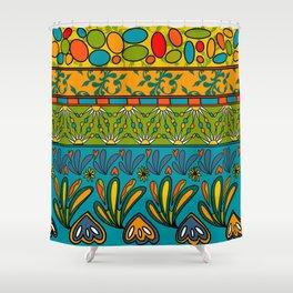 Fete du paisley estival original Shower Curtain