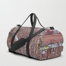 Gum Art Duffle Bag