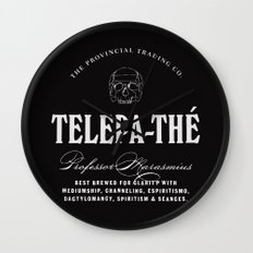 TELEPA-THÉ Wall Clock