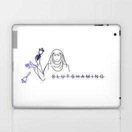 Slut-shaming is bullshit Laptop & iPad Skin