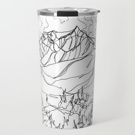 Lupine Time :: Single Line Travel Mug