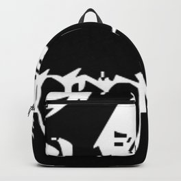 Skull Face Inverted Backpack