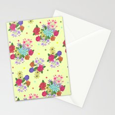 Flowers [yellow] Stationery Cards