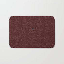 The Hunter and the Trap (Blood Red) Bath Mat
