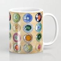 atlas Mugs featuring ATLAS by d.ts