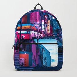 Evening sights of Akihabara Backpack