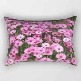 DAISIES IN PINK Rectangular Pillow