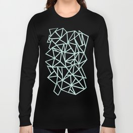 Ab Outline Thick Mint Long Sleeve T-shirt