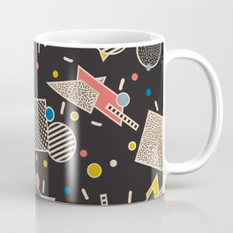 Memphis Inspired Design 8 Coffee Mug
