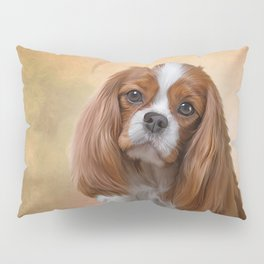 Drawing Dog breed Cavalier King Charles Spaniel Pillow Sham