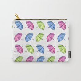 Colorful Umbrella Pattern Carry-All Pouch