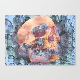 Death of a Galaxy Canvas Print