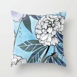 Flowers for you #2 Throw Pillow