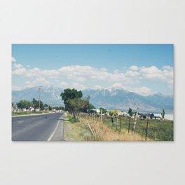 ROADTRIPPING Canvas Print