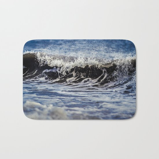 Breaking Waves Bath Mat