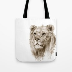 A Lion :: Without Pride Tote Bag