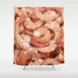Shrimp Shower Curtain