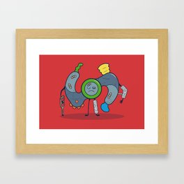 It's All Fun & Games Until Someone Gets Hurt... Framed Art Print