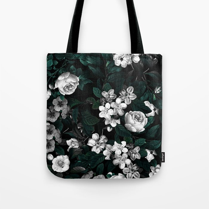 Botanical Night Tote Bag