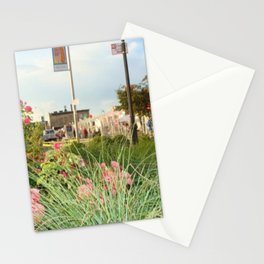 The Spring Flowers in Coney Island Stationery Cards