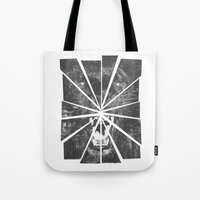 panther Tote Bags featuring PANTHER by TOO MANY GRAPHIX