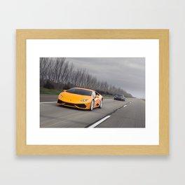 Huracan & i8 Framed Art Print