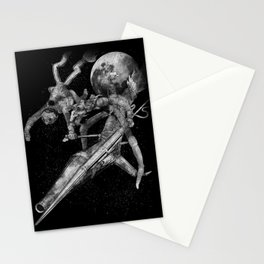 Don Quixote and Sancho. Stationery Cards