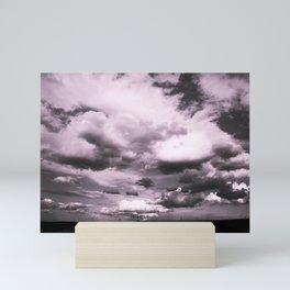 Cloudy Sky #decor #society6 Mini Art Print