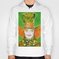 mad hatter Hoodies featuring Hatter by Aliece Carney