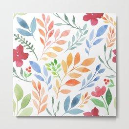 Sweet Flowers Metal Print