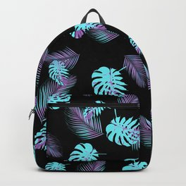 Tropical Monstera Palm Pattern #2 #tropical #decor #art #society6 Backpack