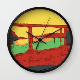 Fort Bragg Wall Clock