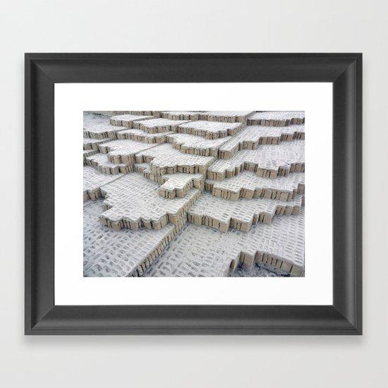 Pyramid in Lima Framed Art Print