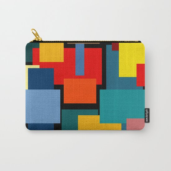 Color Blocks #8-2 Carry-All Pouch