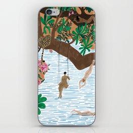 The Jungle Beach iPhone Skin
