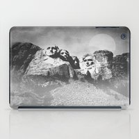 rushmore iPad Cases featuring Rushmore at Night by Peaky40