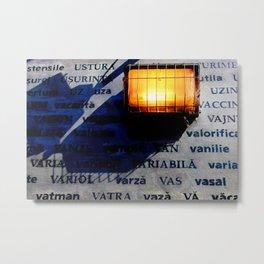 U - V Rays Metal Print