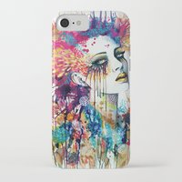 "flora iPhone & iPod Cases featuring ""Flora"" by PeeGeeArts"