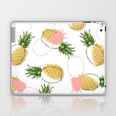 Pineapples & Pine Cones #society6 #decor #buyart Laptop & iPad Skin