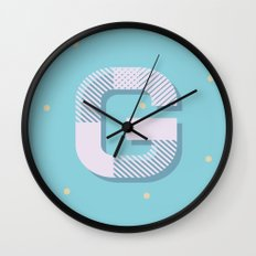 G is for Glamorous Wall Clock