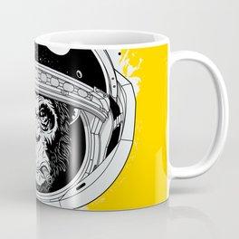 Monkey in white space Coffee Mug