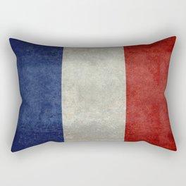 Flag of France, Bright retro style Rectangular Pillow