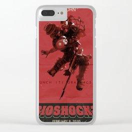 Bioshock 2: Reborn Clear iPhone Case
