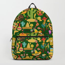 Fiesta Time! Mexican Icons Backpack