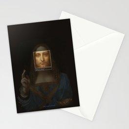 Salvator Mundi _tag Stationery Cards