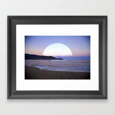 .M. Framed Art Print