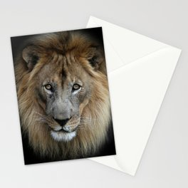 Sweet Male Lion Stationery Cards