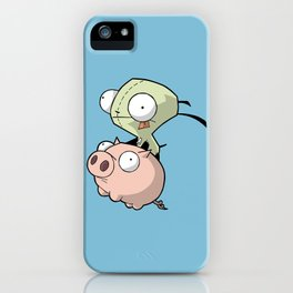 Gir and Piggy iPhone Case