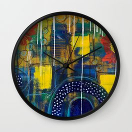 In the Flow Wall Clock
