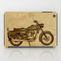 ducati iPad Cases featuring Ducati motorcycle Meccanica by Larsson Stevensem